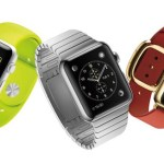 Three Apple iWatches