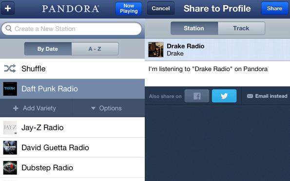 pandora free music app