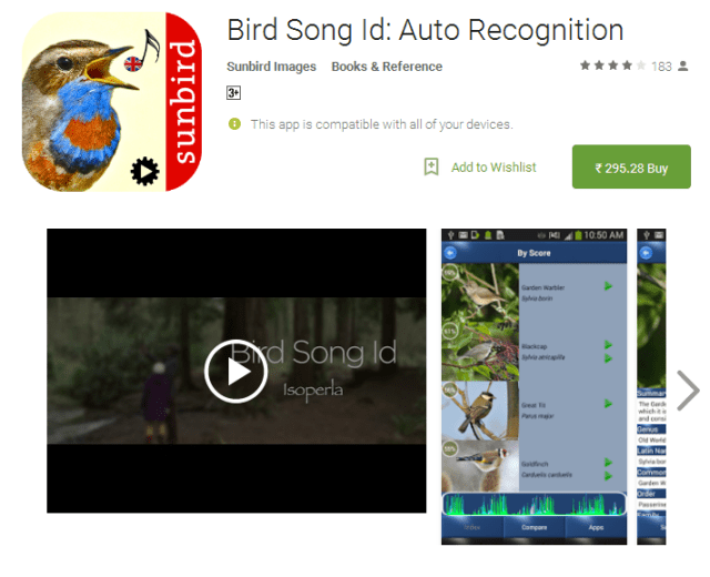 Bird Song Id Auto Recognition