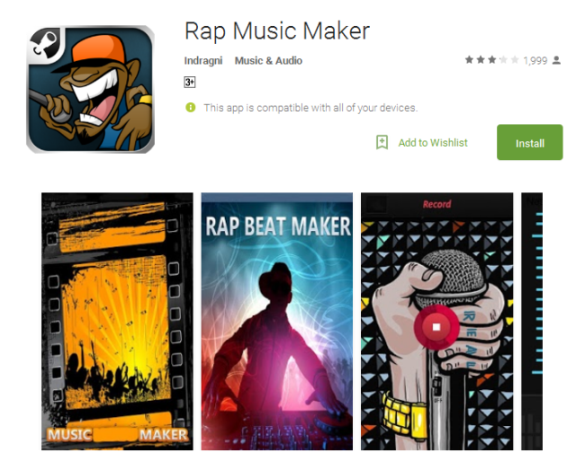 Rap Music Maker Android Apps