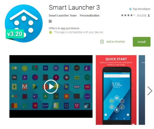 Smart Launcher 3 best launcher