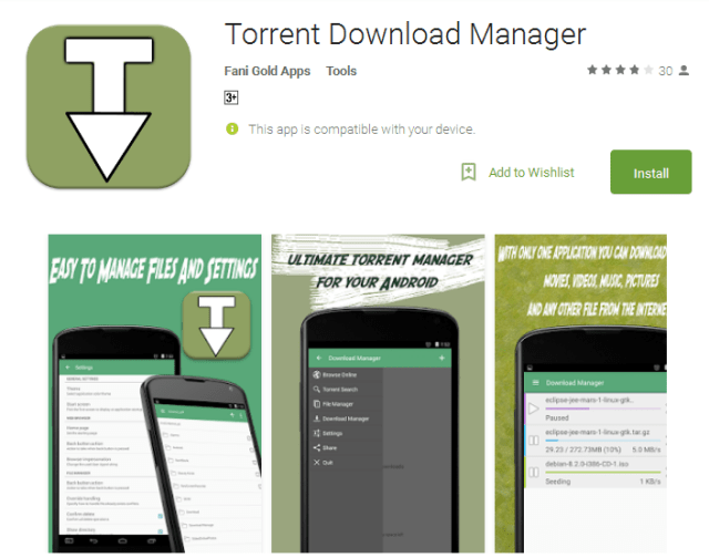 Torrent Download Manager Android Apps