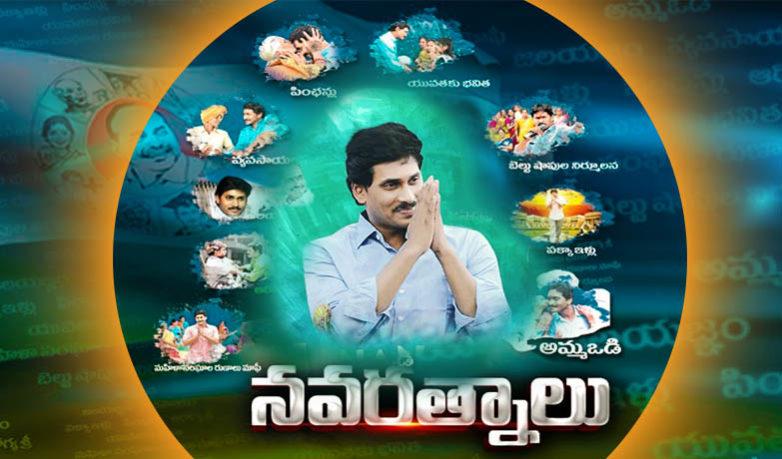Image result for YS Jagan Navaratnalu