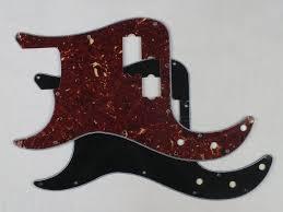 Bass guitar replacement scratchplate