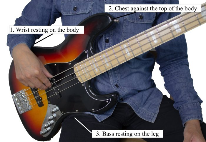 How To Hold The Bass Guitar