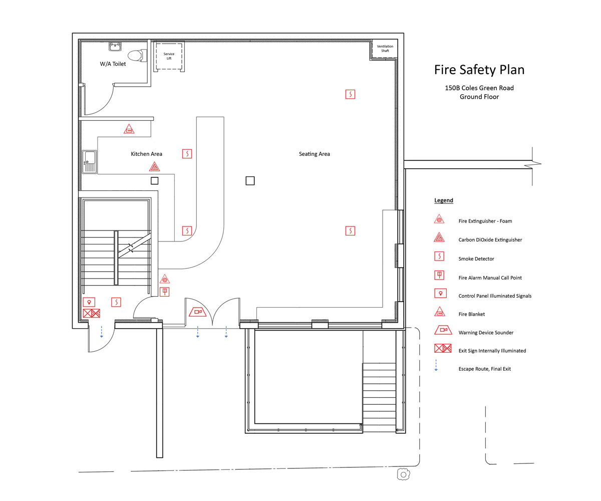 Fire Alarm Plans Sample