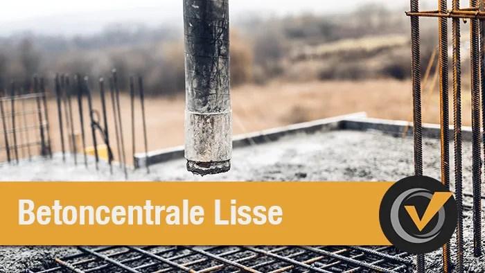 betoncentrale lisse