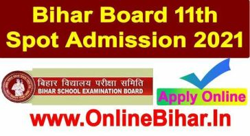 Bihar Board 12Th Admission 2021