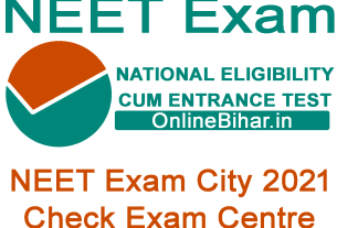 NEET Exam City