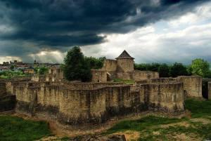 In vizita la Cetatea de Scaun a Sucevei