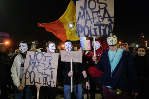 Cel mai mare protest din Romania de dupa '89