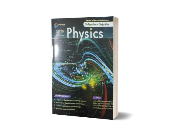 Subject+Objective Physics Mcqs lectureship By Emporium Publisher