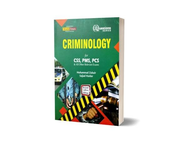 Criminology 20 Question By M Zubair & Sajjad Haidar- JWT