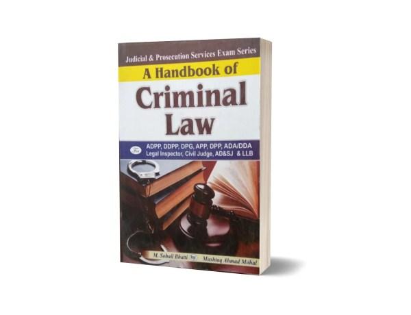 A Handbook Of Criminal Law By Muhammad Sohail Bhatti
