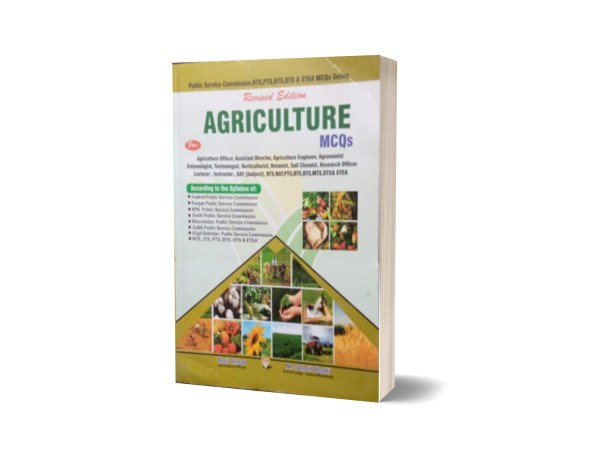Agriculture MCQs For NTS By Muhammad Sohail Bhatti