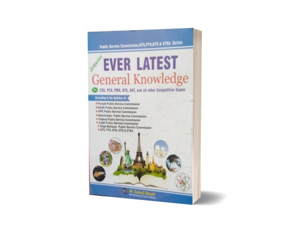 Ever Latest General Knowledge For CSS.PMS-PCS By Muhammad Sohail Bhatti