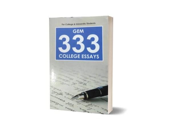 Gem 333 College Essays