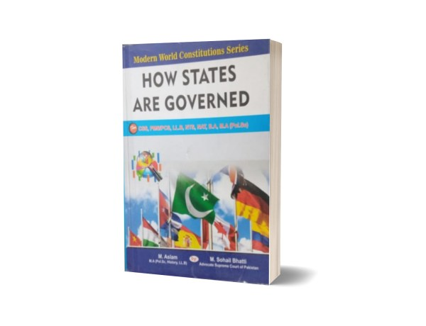 How States Are Governed For CSS.PMS-PCS By Muhammad Sohail Bhatti