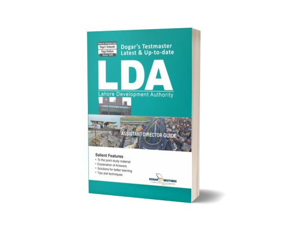 LDA Assistant Director Guide-NTS By Dogar Brothers