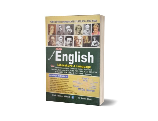 MCQs English Literature & Language For Lecturership CSS.PCS-PMS By Muhammad Sohail Bhatti
