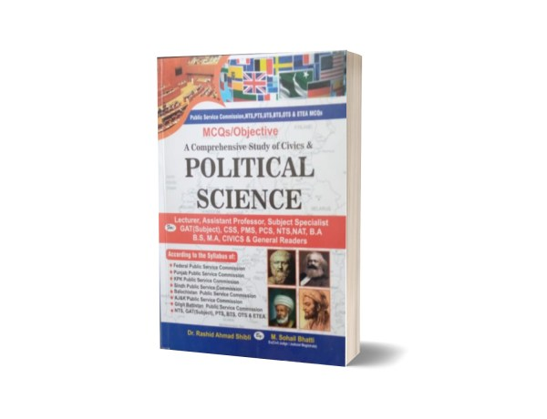 MCQs Objective Political Science For CSS.PMS-PCS By Muhammad Sohail Bhatti