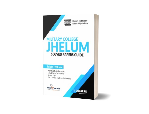 Military College JHELUM Solved Papers Guide By Dogar Brothers