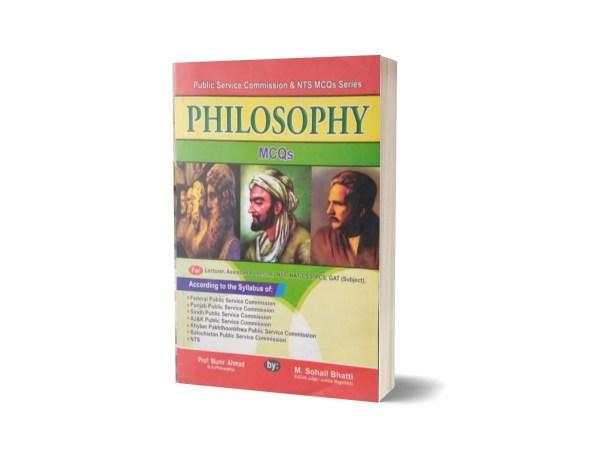 Philosophy MCQs For NTS By Muhammad Sohail Bhatti