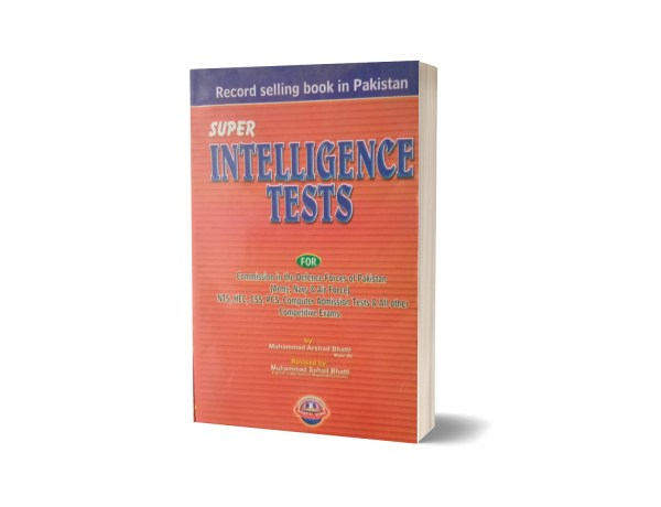 Super Intelligence Tests For CSS.PCS By Muhammad Sohail Bhatti