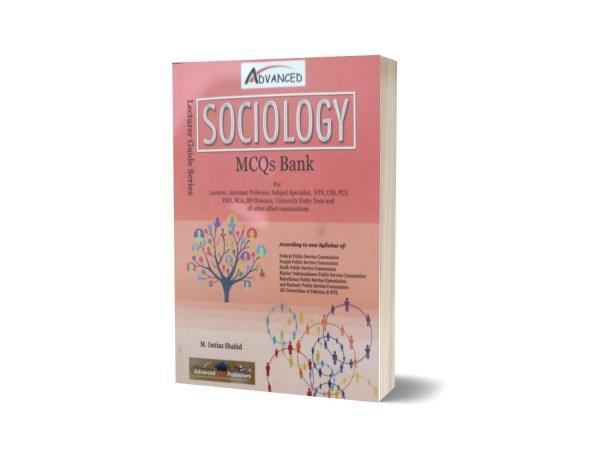 Sociology MCQs Bank For NTS-CSS-PMS By M. Imtiaz Shahid