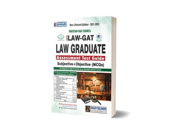 LAW-GAT (Graduate Assessment Test Guide)- Dogar Publishers