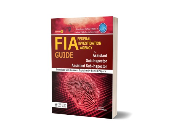 FIA Guide for Sub Inspector By Caravan Book House