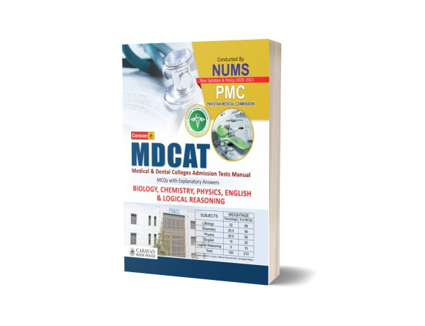 MDCAT (Medical and Dental College Admission Test) MCQs with Answers