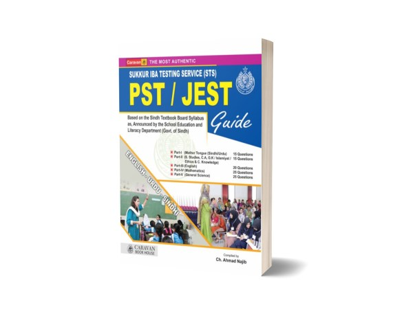 PST JEST Guide for IBA Testing Service By Caravan Book House