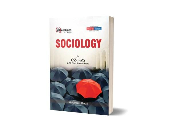 Sociology (Top 20 Questions) By Muhammad Ahmad- JWT