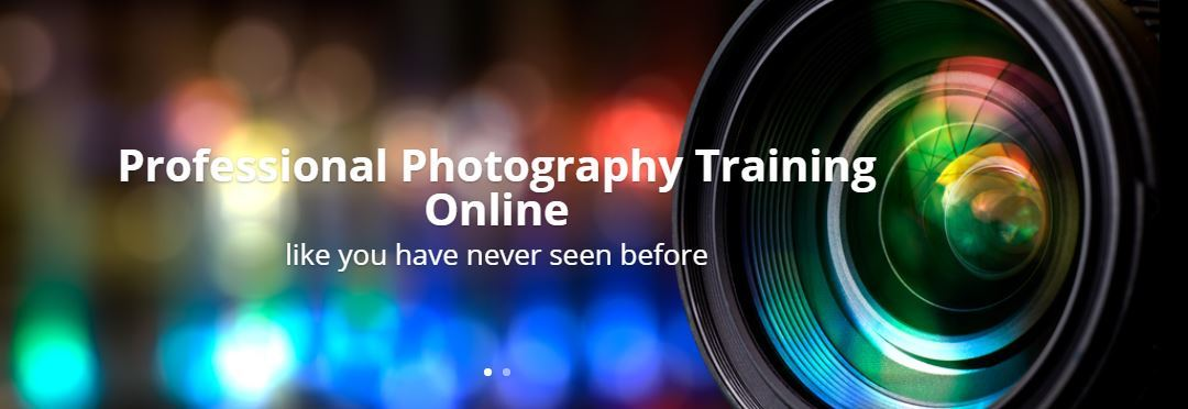 ONLINE PHOTOGRAPHY COURSE SALE