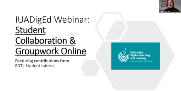 Watch the Webinar: Student Collaboration Discussion