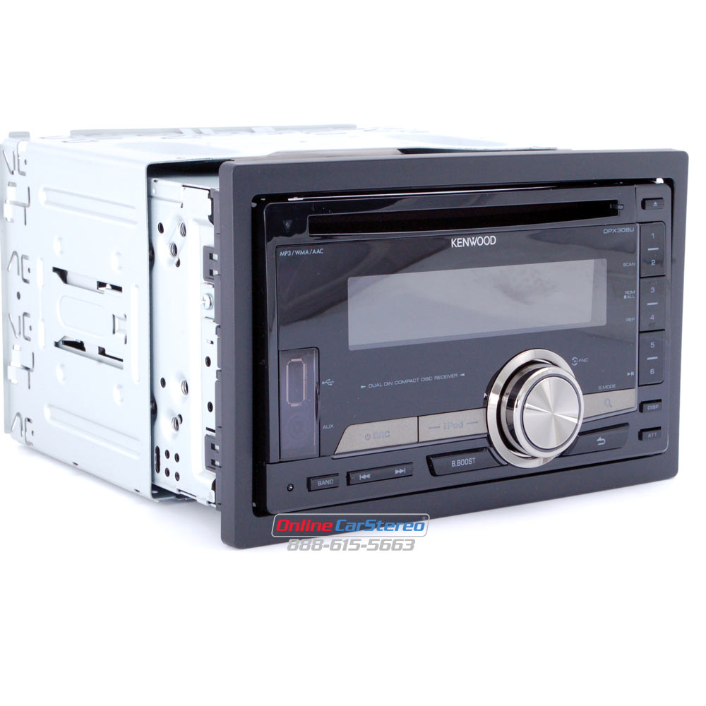 medium resolution of kenwood dpx308u 2din in dash cd mp3 receiver with front usb port andkenwood dpx308u 2din in