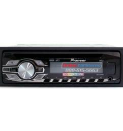pioneer deh 3400ub single din in dash cd mp3 wma car [ 1000 x 1000 Pixel ]