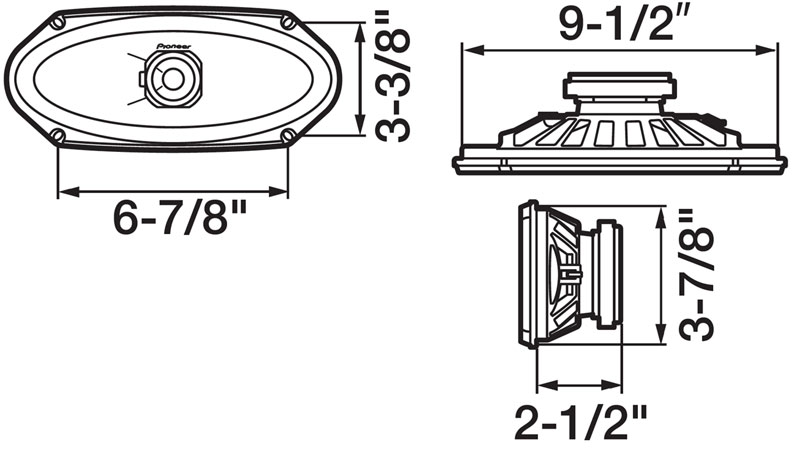 Pioneer TS-A4103 4