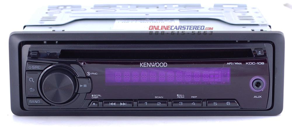 Wiring Diagram Kenwood Kdc 108