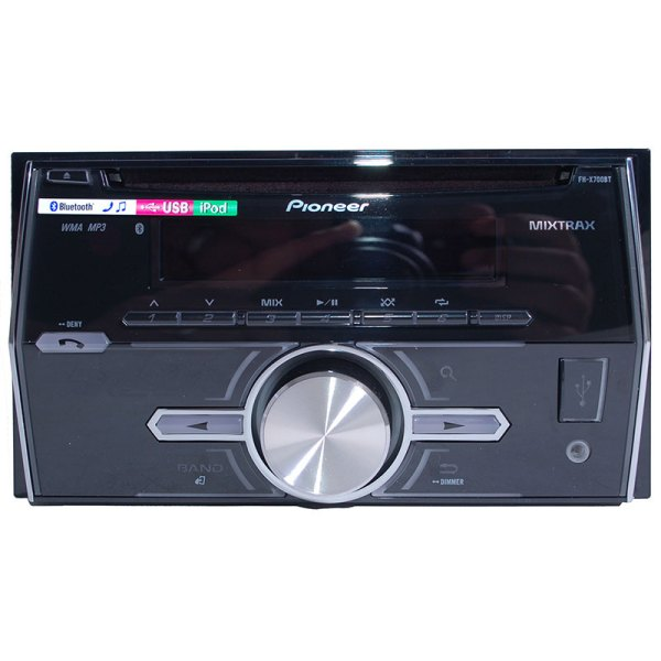 Pioneer Fh-x700bt Bluetooth Enabled Double-din In-dash Cd Mp3 Receiver With Pandora Link