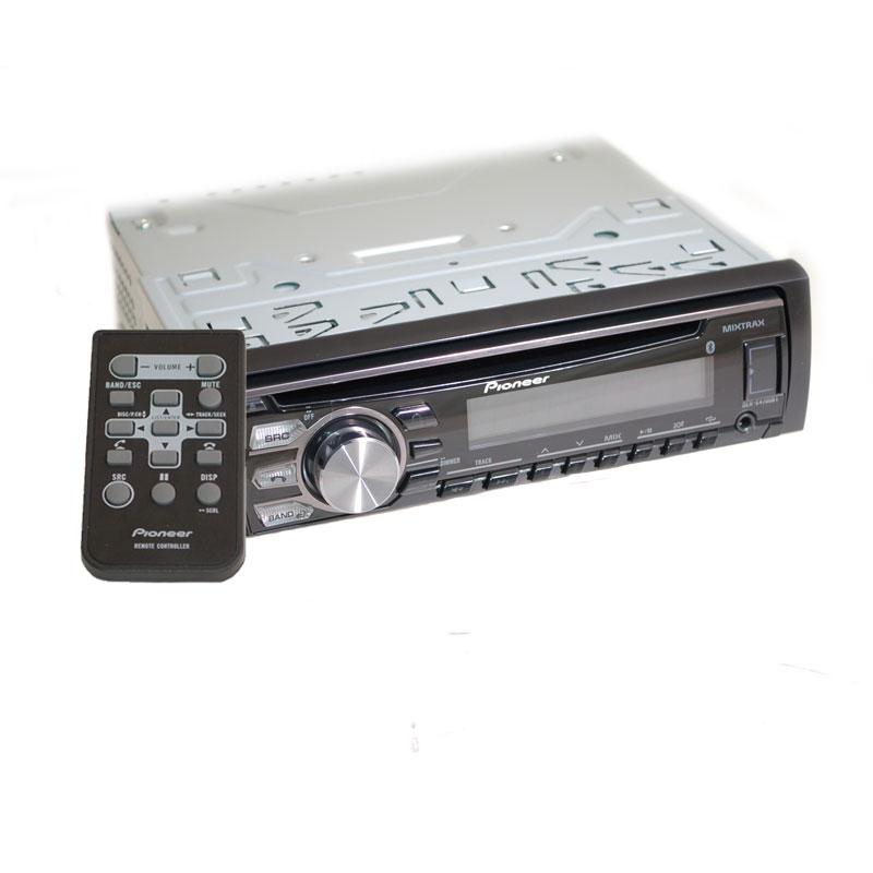 Pioneer Mixtrax Car Stereo Wiring Harness Pioneer Deh X4700bt Single Din Bluetooth In Dash Cd Am