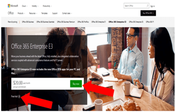 create office 365 account