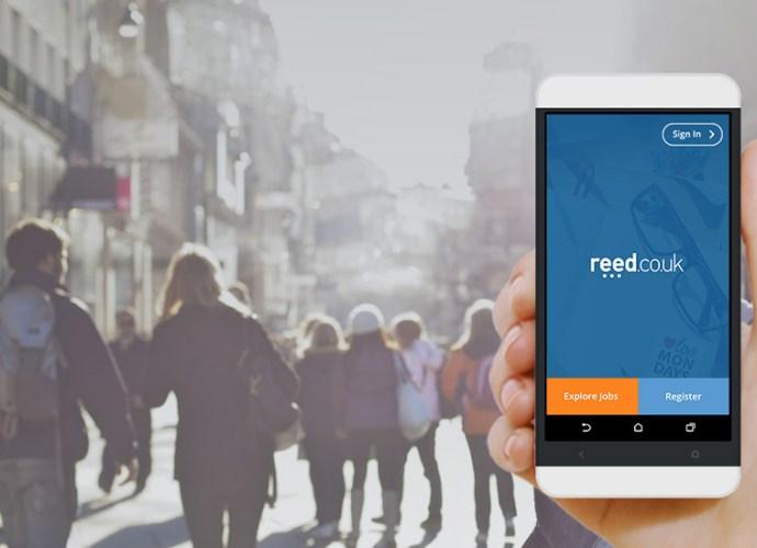 Reed jobs app