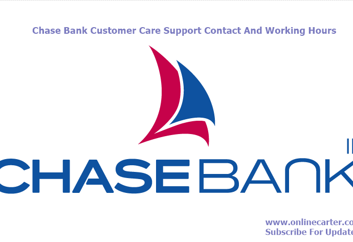 chase customer service phone number Archives - Online Carter