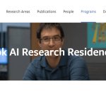 Facebook AI Research Residency Program 2018 | Facebook Machine Learning