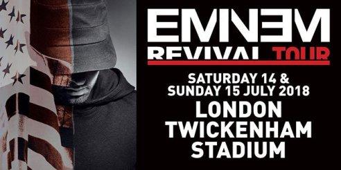 Eminem 2018 Tour