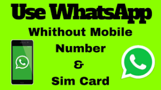 Whatsapp without Sim card