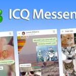 ICQ Messenger Sign Up | ICQ Messenger Sign In