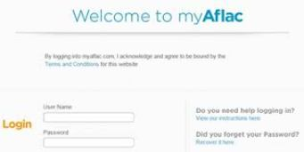 My Aflac account